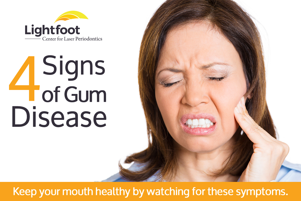 signs of gum disease